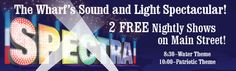 SPECTRA The Wharf's Sound and Light Spectacular