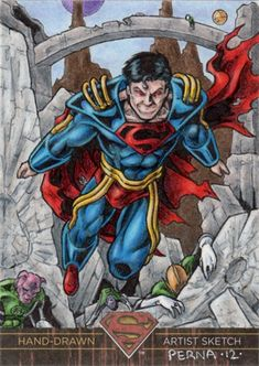 DC Comics 'Superman The Legend' Superboy Prime Sketch Card Comic Art Comic Books Art, Comic Art, Book Art, Superboy Prime, Punisher 1, Art Archive, Man Vs, Types Of Art, Medium Art