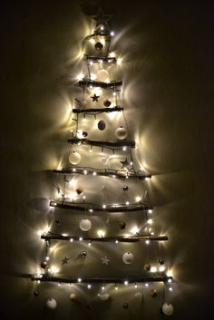 DIY Christmas Tree. Branches. DIY decor starts.