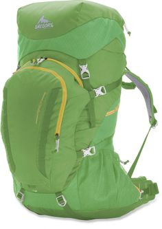 The Gregory Wander 70 pack offers a full-featured, full-size gear hauler for backpackers age 10 and up. #REIGifts
