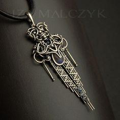 the Totem Necklace by Iza Malczyk