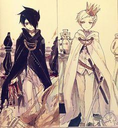 ray and norman the promised neverland amor boy dark manga mujer fondos de pantalla hot kawaii Manga Anime, Film Anime, Art Anime, Fanarts Anime, Anime Guys, Character Art, Character Design, Image Manga, Animes Wallpapers