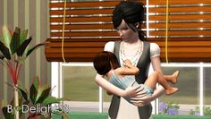 My Sims 3 Poses: Family set by Delight 33