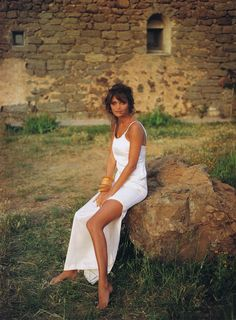 Helena Christensen | Photography by Fabrizio Ferri | For Vogue Magazine UK | August 1992