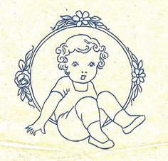 Just-a-mere: Vintage Embroidery Patterns