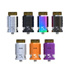 >> Click to Buy << 100% Original Ijoy RDTA 5S 2.6ml 24MM Tank Central Fill design Two Post Gold-plated Build Deck Tank fitted Captain PD270 Mod  #Affiliate