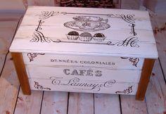 skrzynia, kufer, ława, drewniane meble, styl retro, vintage  Zobacz więcej na: https://www.homify.pl/katalogi-inspiracji/11078/stylowe-skrzynie-do-przechowywania