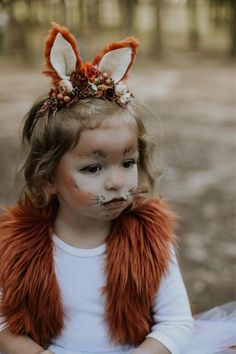 Fox headband- fox ears-fox costume add on- fox Fox Stirnband Fox Ohren Fox Kostüm Add on Fox Fox Halloween Costume, Halloween Costumes For Girls, Baby Costumes, Diy Fox Costume, Infant Halloween, Halloween Headband, Halloween 2020, Costume Ideas, Tutorials