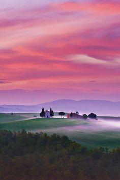 foresity: burning skies || Dennis Fischer San Quirico Siena Tuscany
