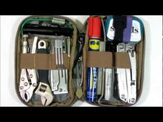 Micro Pocket Organizer Tool Kit: 100 Items for Car/Truck Glove Box, EDC Bag, Kitchen Drawer, etc. Camping Tools, Camping Survival, Survival Prepping, Survival Gear, Survival Skills, Camping Gear, Survival Quotes, Survival Stuff, Camping Stove