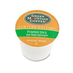 You know it's fall when pumpkin spice coffee returns!