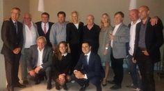 La delegación eslovena de la película Famil y Film con @HostGipuzkoa en @bokadoeventos Famil eta Film filmaren ordezkapen esloveniarra @HostGipuzkoa-rekin Bokadon #63ssiff