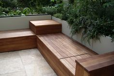 How wonderfully awesome are these benches! Mega inspired ;-) While we are months and months away from touching the backyard I can't help but dream a little about the layout. I am hoping to ac…