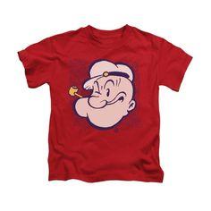 Popeye - Head Kids T-Shirt