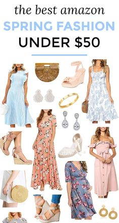 2cdd173bbba2e3 Best Spring Fashion from Amazon Under  50