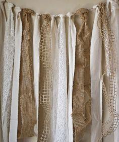 M s de 1000 ideas sobre cortinas de tiras de tela en for Cortinas de tela de saco
