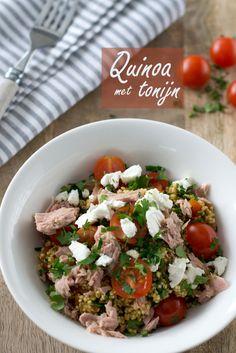 Quinoa met tonijn