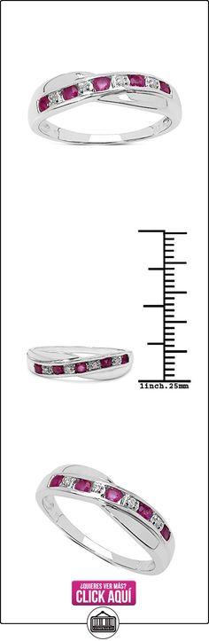 La Coleccion de Anillo Ruby: Ruby & diamante Canal de Juego, eternidad anillo cruzado en plata de ley  ✿ Joyas para mujer - Las mejores ofertas ✿ ▬► Ver oferta: https://comprar.io/goto/B00FK7QUSE