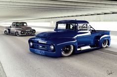 Trucks Street Race Cars That Look Like | Rodrigo Chicon Second Generation Ford Trucks Photo 5
