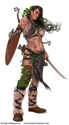 Barbarian Archer