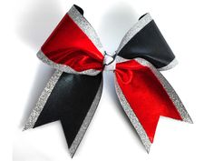 Tick Tock Mystic Red Black Glitter