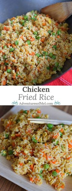 How to make fried rice like a japanese steakhouses version food chicken fried rice is one of my favorite things to order when we go out to eat now we make it at home thanks to my husbands delicious recipe ccuart Gallery