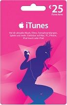 iTunes €25 Gift Card - US iTunes store has more than 10 million songs many iTunes features are only available at the US iTunes store. You can visit http://www.pcgamesupply.com/buy/iTunes-25-Gift-Card/