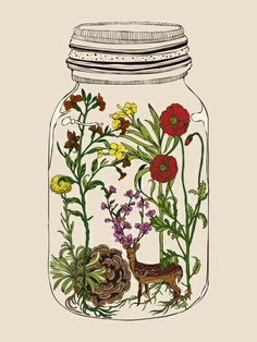 the treatment of colour illustrations within the jar, and the jar being in black still and if the background was white it would hold such beautiful contrasting values.
