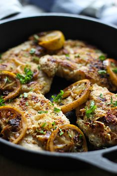 Ready in under 30 minutes, these lemon butter chicken breasts make a good choice for an easy weeknight dinner.
