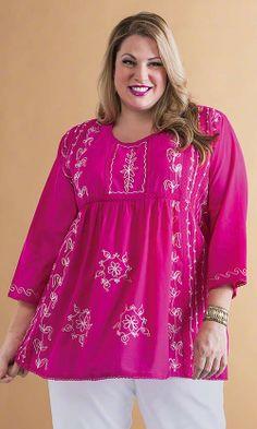Kismet Tunic/ MiB Plus Size Fashion for Women