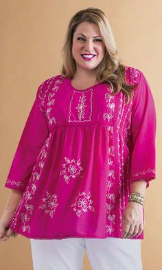 Kismet Tunic/ MiB Plus Size Fashion for Women