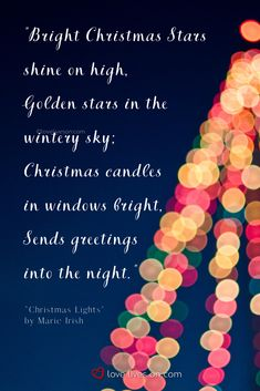 Read the ultimate collection of religious Christmas poems and readings. Find inspiring poems & readings for Sunday school, church services, & carol concerts. Christmas Poems, Christmas Star, Christmas Candles, Christmas Lights, Christian Christmas, Golden Star, Christians, Sunday School, Holidays