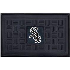 MLB Medallion Door Mat, Black
