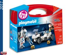 PLAYMOBIL 9101 Carrying Case Space Exploration