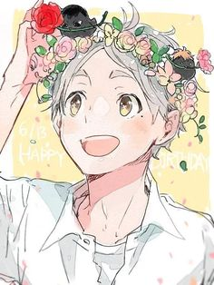 Haikyuu!! (ハイキュー!!) - Koushi Sugawara (菅原 孝支)