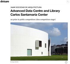 Jorge Allende   Fotografía de arquitectura   Architectural photography: Centro Carlos Santamaria en Divisare.
