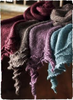 Mohair Corkscrew Scarf by Peruvian Connection