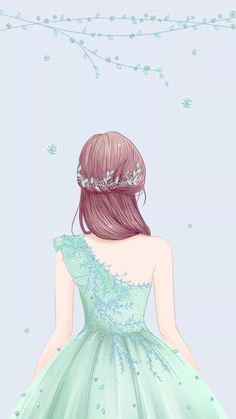 New wall paper anime art beautiful Ideas Girly Drawings, Anime Girl Drawings, Anime Art Girl, Girl Cartoon, Cartoon Art, Arte Fashion, Cute Girl Drawing, Cute Girl Wallpaper, Digital Art Girl