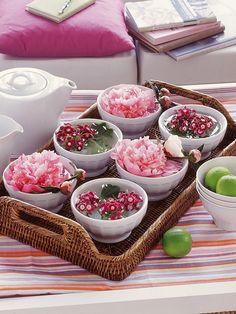 centro de mesa aromatico