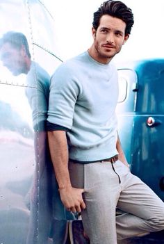 dressing up with just a sweater #menswear #simplydapper #stylish