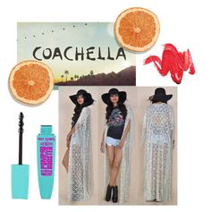 """Coachella !!!"" by mariiijana ❤ liked on Polyvore featuring coachella"
