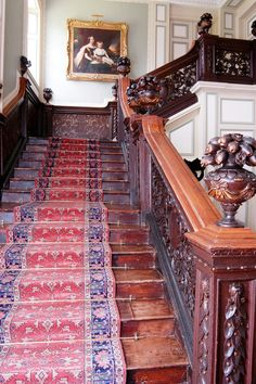 Forde Abbey. The Grand Staircase.
