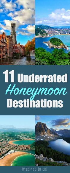 Best Places to Visit after the Wedding!