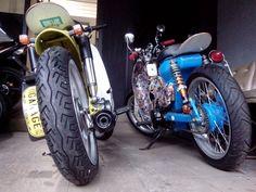 "Street Cub by Newspeed Garage "" Bagoth x Supercubman "" Moto Bike, Motorcycle, Honda Cub, Expedition Vehicle, Scooters, Cubs, Wheels, Joker, Vehicles"