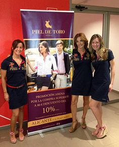 Las chicas del Centro Deportivo @Arena Alicante con prendas Piel de Toro. ¡Ojo al descuento que ofrecen para sus socios!  #moda #deporte #Alicante