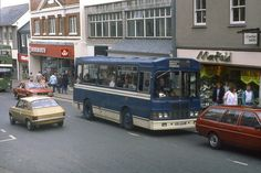 Penzance Woolworths 1980s Penzance Cornwall, Cornwall England, Falmouth, Old Photos, Past, To Go, Coaches, Shops, Buses
