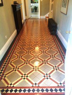 A client from the village of Heytesbury contacted me to see whether we could improve the look of her Victorian tiled hallway floor. It turns out that a competitor had previously cleaned and sealed it two years prior but she was disappointed with the result once she realised that the floor still had dirt ingrained in the tile. As per our normal practice we ran a test clean and she booked us in immediately.