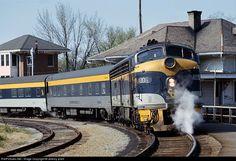 RailPictures.Net Photo: 4006 Chesapeake & Ohio (C&O) EMD E8(A) at Gordonsville, Virginia by Jeremy plant