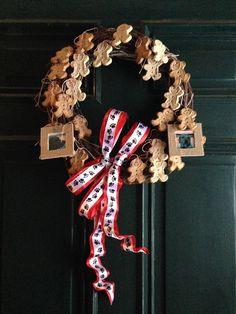 ljcfyi: Secret Santa dog biscut wreath - nailed it