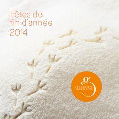 La carte de Noël du pâtissier Sébastien Gillmann est sortie. Gourmandise...